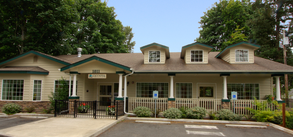 Charming building at our Olympia senior living