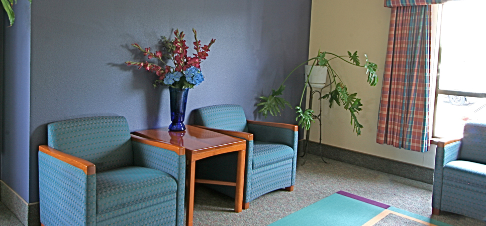 Regency Gresham Skilled Nursing & Rehabilitation Center features bright interior spaces