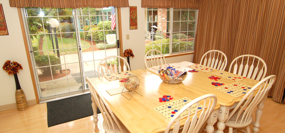 Regency Woodland features a homey game room