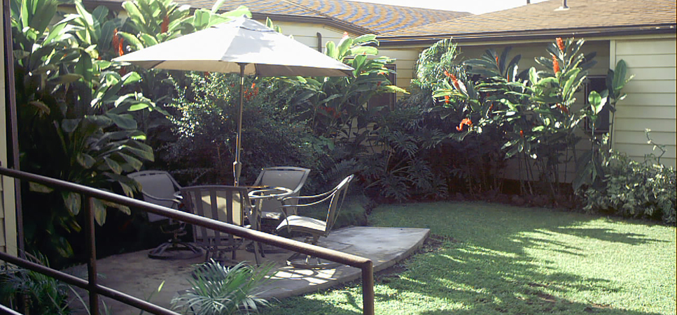 Retirement living in Waimea, HI with beautifully landscaped grounds