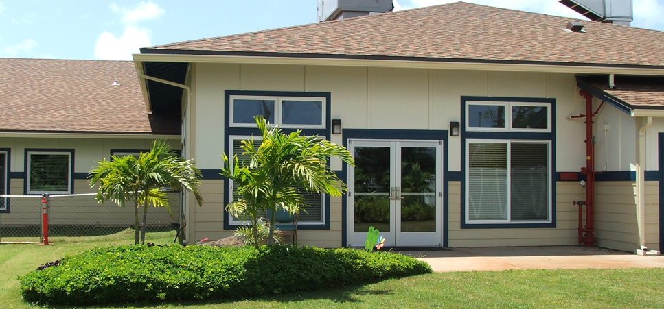 Kauai Care Center features safe and secure outdoor courtyards