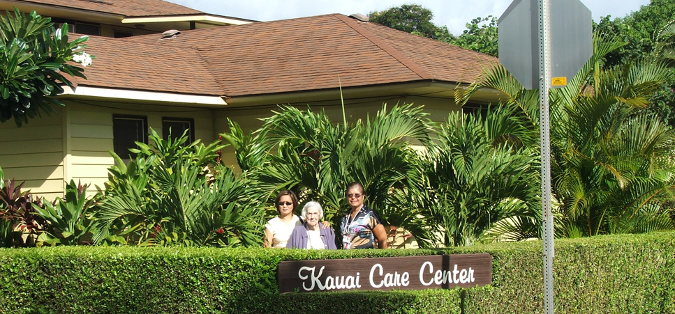 Welcome to Kauai Care Center retirement community in Waimea, HI 96796