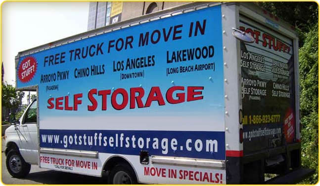 Freetruck Got Stuff Self Storage