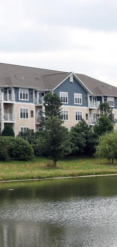 Take a walk around the pond at our apartments for rent in Madison, WI 53718