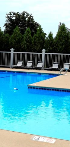 Pool at our Franklin apartment rentals