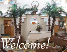 Community lobby Barrington Terrace of Ft. Myers - Assisted Living