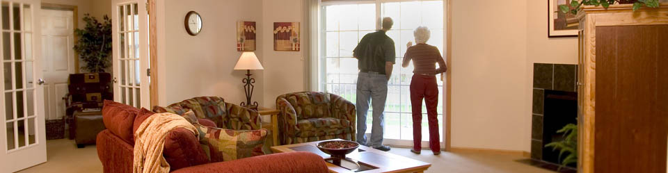 Couple in senior apartments in Wisconsin