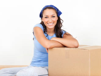 This womans move was just made easier with Marinship Self Storage tips.
