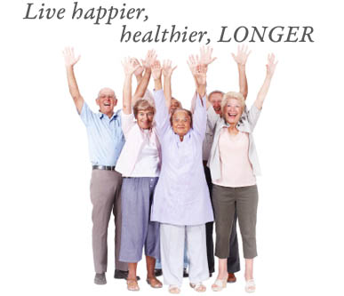 Live happier at Chateau Retirement Communities LLC Senior Living