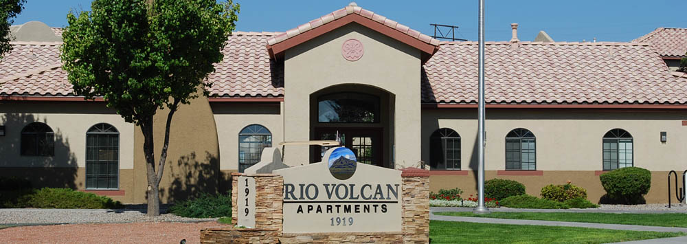 Leasing office at apartments in Albuquerque, NM