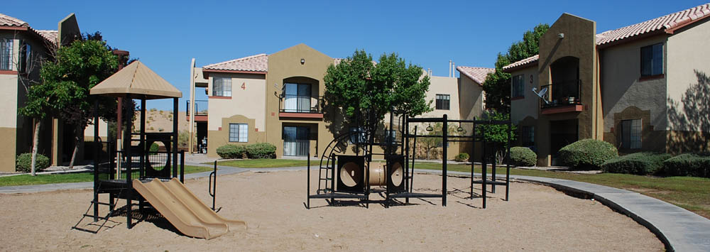 Playground at Albuquerque apartments