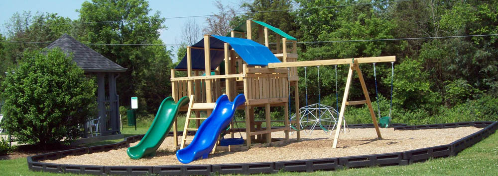 Children's playscape at apartments in Mt. Juliet