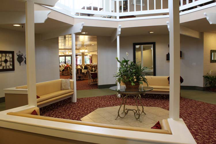 Retirement living in Boise, ID with stylish decor throughout