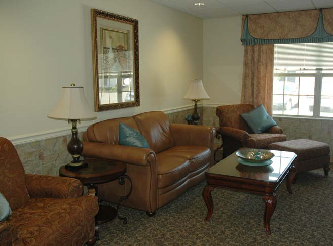 Fountain View Manor features comfortable day rooms