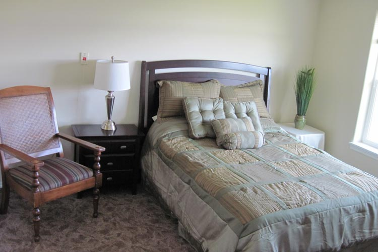 Our McMinnville senior care community features light filled resident rooms