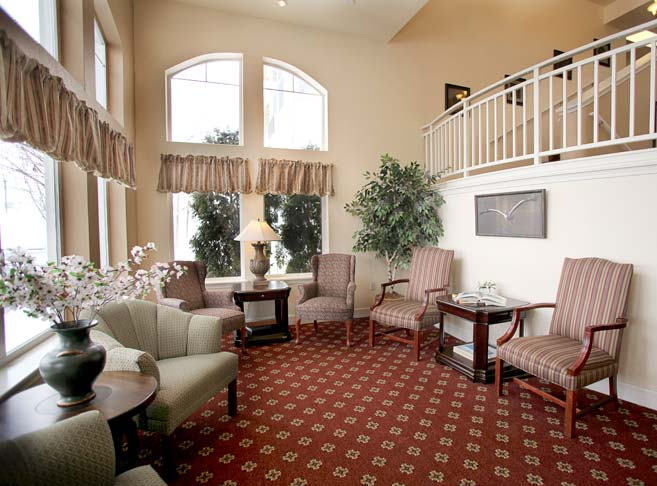 Stylish sitting areas at our retirement community in Klamath Falls, OR 97603