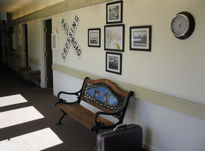 Rretirement living in Roseburg, OR with charming decor