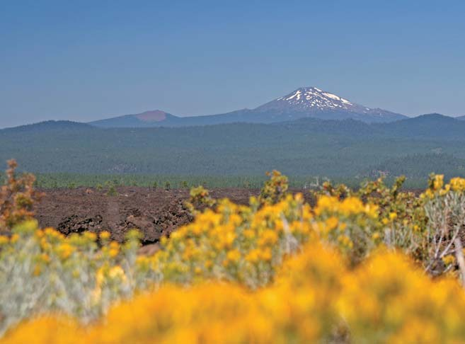 Stunning mountain views at our retirement community in Bend, OR 97701