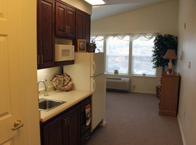 Retirement living in Hood River, OR with efficient apartments