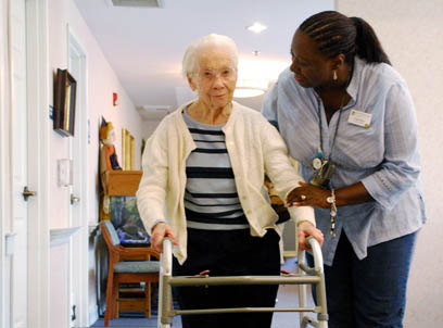 Senior appreciates Individual Care Plans in Dallas