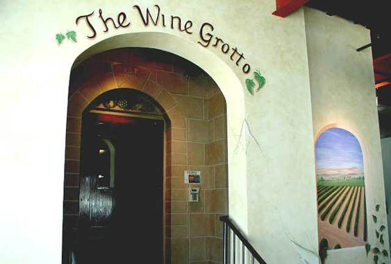 Entryway The Wine Grotto