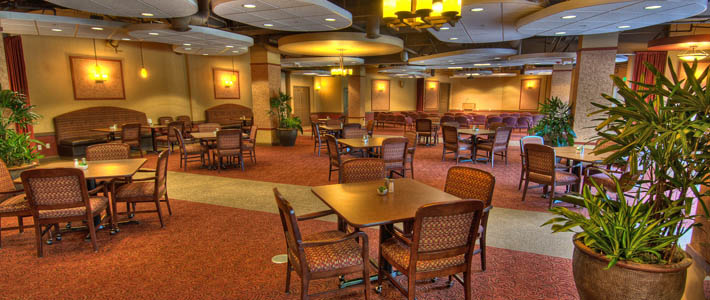 Bistro dining at Chateau Retirement Communities LLC