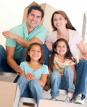 Family enjoys self storage at Marinship.