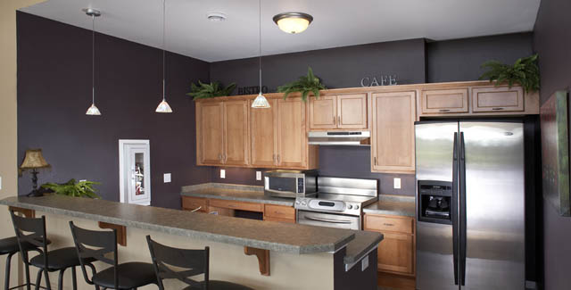 Kitchen at Fiduciary Real Estate Development, Inc.'s Newport Vista Condominiums