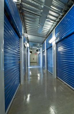 BullsEye Storage interior self storage units