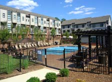 Take a dip in the swimming pool at apartments in Chapel Hill