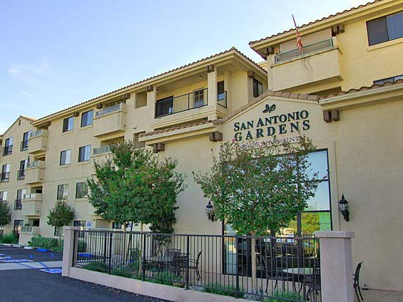 Retirement living in Norwalk, CA with attractive architecture