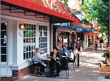 Enjoy the variety of restaurants and cafes near Cosgrove Hill
