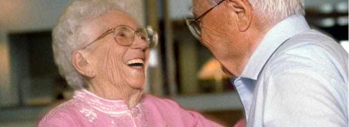 Couple dancing at Arbor Oaks Senior Living