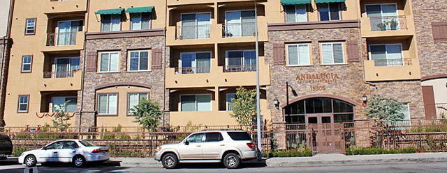 Van Nuys, CA senior apartments available for rent.
