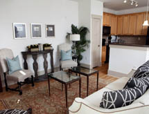 The Townhomes at Chapel Watch Village has inviting living spaces