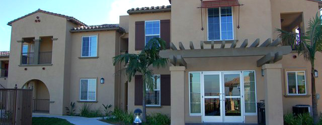 Exterior of our senior apartments in Rancho Palos Verdes