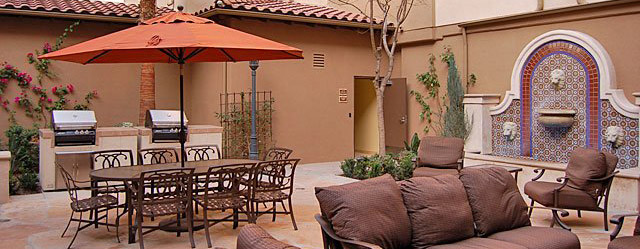 Courtyard at Panorama City, CA senior apartments