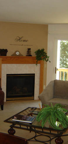 Come home to your new living room at apartments in Pewaukee