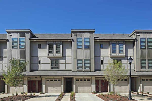 Townhomes with garages in Chapel Hill, NC