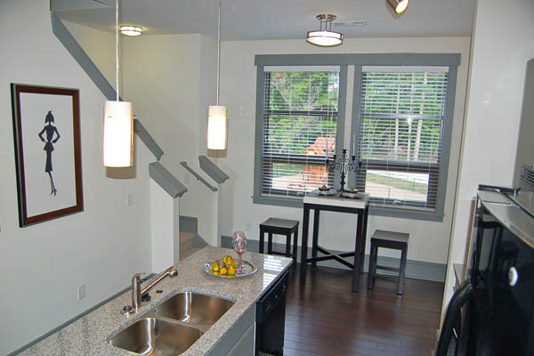 Multi-level apartments in Chapel Hill