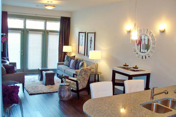Our Chapel Hill two bedroom apartments feature spacious open floor plans