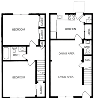 1 2 and 3 bedroom apartments in richmond va floor plans - 2 bedroom apartments richmond va ...