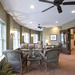 Appealing lounge featured at Armour Oaks Senior Living Community senior living community
