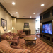 Appealing tv area at senior living community in Kansas City, MO