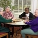 Seniors playing games at Armour Oaks Senior Living Community