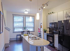 Cook delicious meals in your new kitchen at apartments in Chapel Hill
