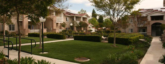 Courtyard at simi valley senior apartments