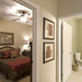 Cozy rooms available at senior living in Kansas City