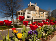 Enjoy a variety of planned events in the plaza at apartments in Huntersville