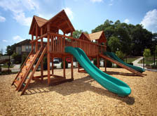 Enjoy the playground at apartments in Chapel Hill